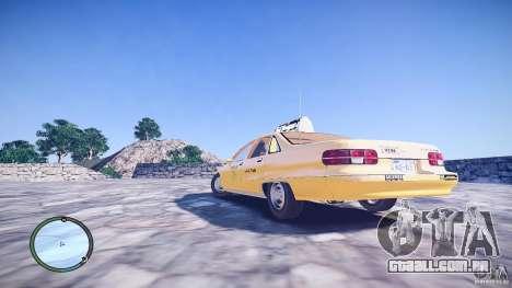 Chevrolet Caprice Taxi para GTA 4 esquerda vista