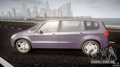Ford Galaxy S-Max para GTA 4 esquerda vista