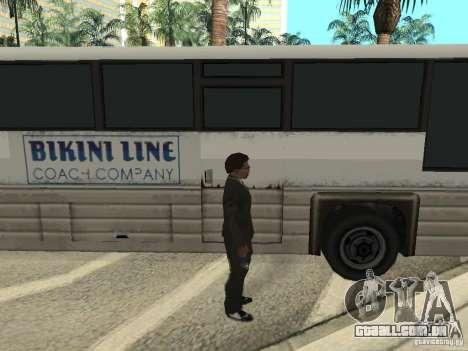 Linha de ônibus em Las Venturas para GTA San Andreas décimo tela