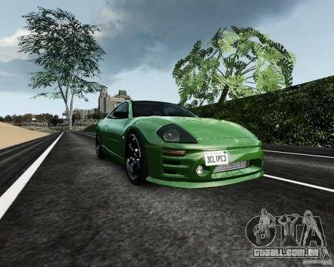 Mitsubishi Eclipse GT-S para GTA 4 vista interior