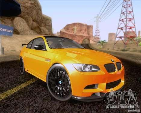BMW M3 GT-S Fixed Edition para GTA San Andreas
