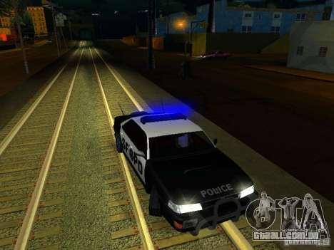 San-Fierro Sultan Copcar para GTA San Andreas vista superior