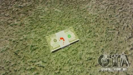 Notas dos Estados Unidos nas notas de $ 1 para GTA 4
