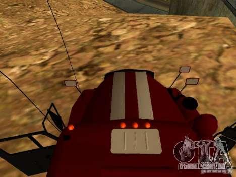 Fogo de Ural 5557-40 para GTA San Andreas vista direita