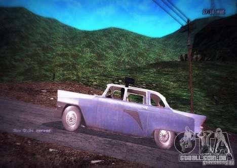 Polícia gás 13 Cuba para GTA San Andreas esquerda vista