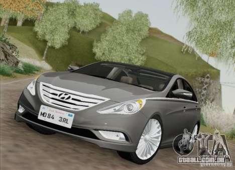 Hyundai Sonata 2012 para GTA San Andreas esquerda vista