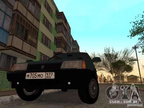 VAZ 21099 CR v. 2 para GTA San Andreas vista direita