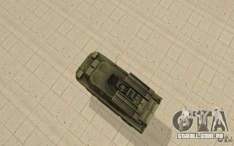 9 k 31 Strela-1 padrão para GTA San Andreas vista direita