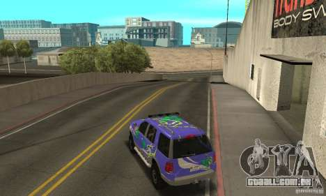 Ford Explorer 2002 para GTA San Andreas interior