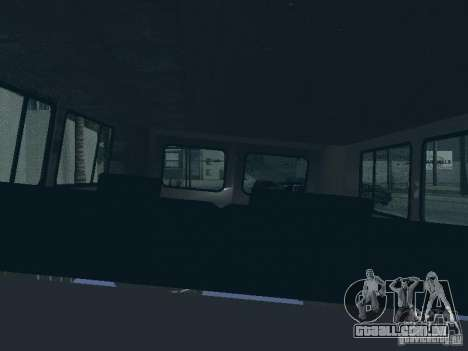 UAZ 2206 para GTA San Andreas interior