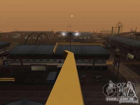 Huge MonsterTruck Track para GTA San Andreas décima primeira imagem de tela