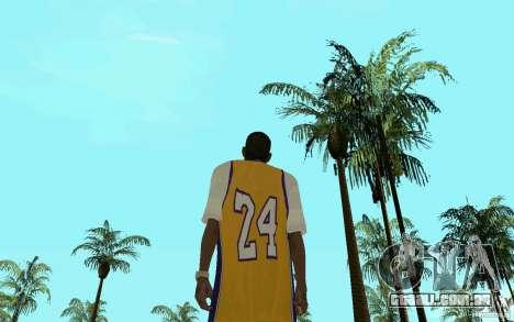 Afro-American HD skin para GTA San Andreas por diante tela