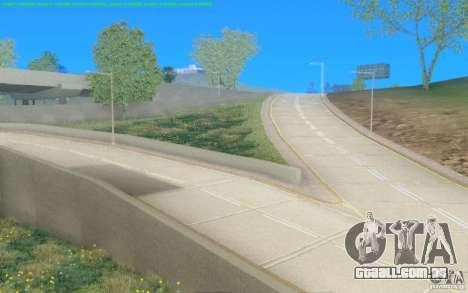 Estradas concretas de Los Santos Beta para GTA San Andreas segunda tela