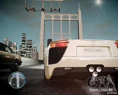 Lexus LF-A Roadster para GTA 4 traseira esquerda vista