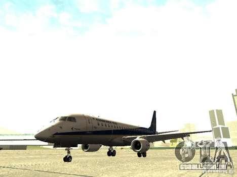 Embraer E-190 para GTA San Andreas