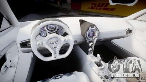 Ford GR-1 para GTA 4 vista de volta