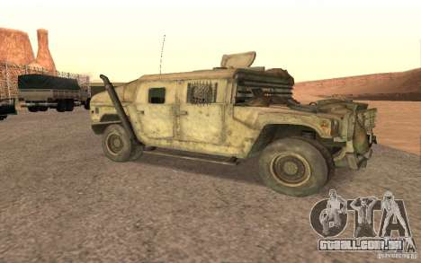 Hummer Spec Ops The Line para GTA San Andreas