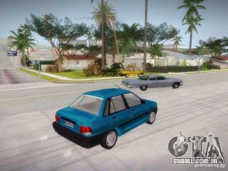 Kia Pride 131 para GTA San Andreas esquerda vista