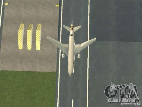 McDonell Douglas  DC 10 Thai Airways para GTA San Andreas vista interior