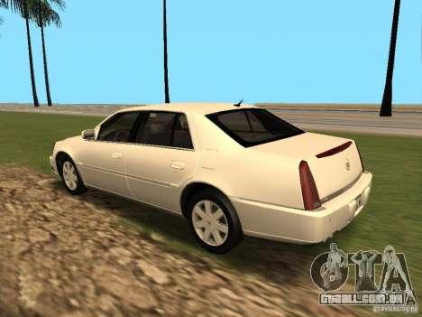 Cadillac DTS 2010 para GTA San Andreas vista direita