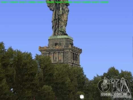 Estátua da liberdade 2013 para GTA San Andreas terceira tela
