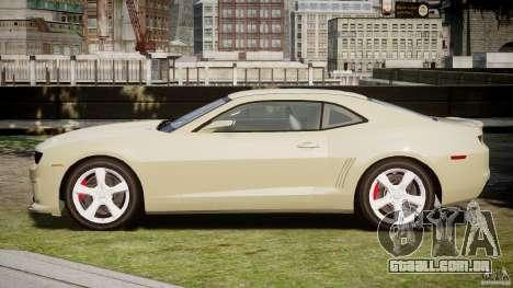 Chevrolet Camaro SS 2009 v2.0 para GTA 4 vista superior