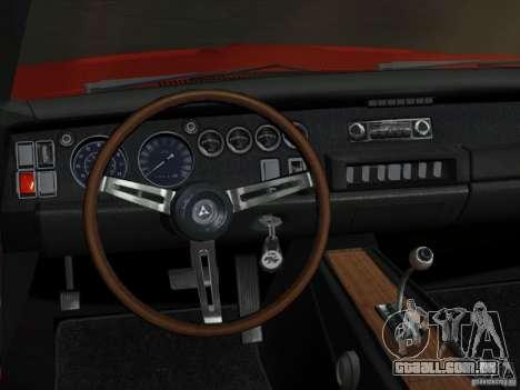 Dodge Charger 426 R/T 1968 v1.0 para GTA Vice City vista lateral