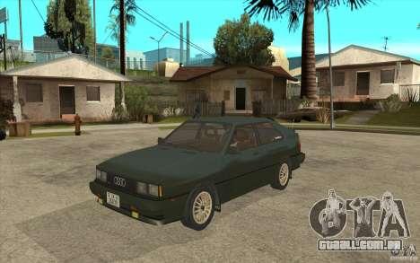 Audi Quattro para GTA San Andreas