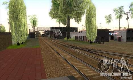 Russian Rail v2.0 para GTA San Andreas por diante tela