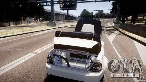 Sultan RS 3.0 para GTA 4 vista lateral