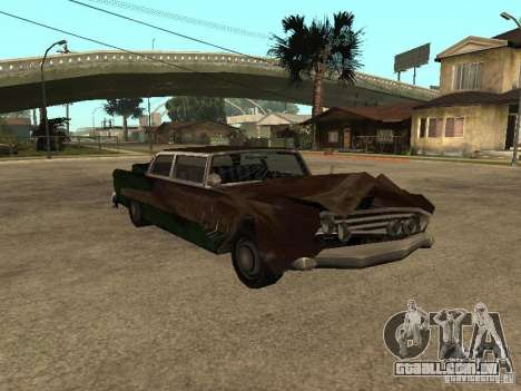 OceanicShit para GTA San Andreas esquerda vista