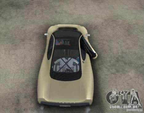 Jaguar XJ 220 Black Rivel para GTA San Andreas vista interior