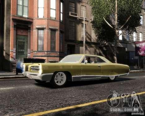 Pontiac Bonneville 1966 para GTA 4 esquerda vista