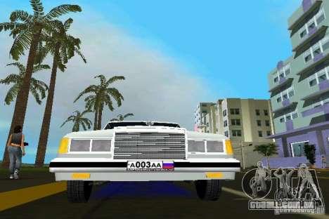 ZIL 41047 para GTA Vice City vista direita