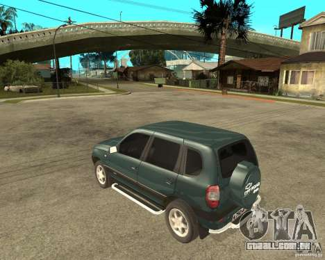 NIVA Chevrolet para GTA San Andreas esquerda vista