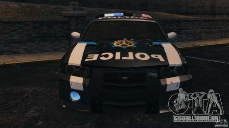 NFSOL State Police Car [ELS] para GTA 4 vista lateral