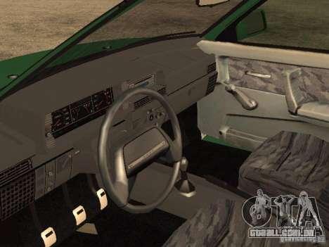 VAZ 2108 dreno para GTA San Andreas vista direita
