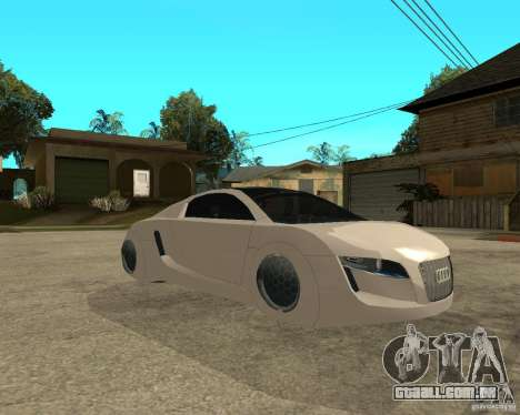 AUDI RSQ concept 2035 para GTA San Andreas vista direita