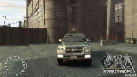 Toyota Land Cruiser 200 2010 para GTA 4 vista direita