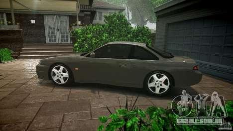 Nissan 200SX para GTA 4 vista inferior