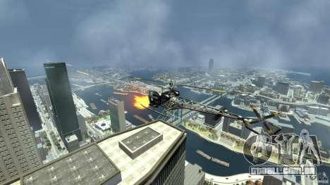 Sparrow Hilator para GTA 4 vista interior