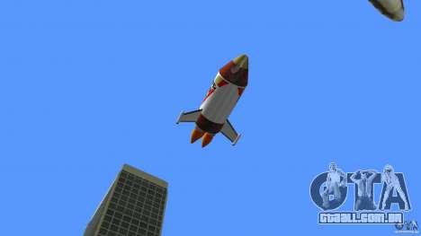 V&V Sparrow para GTA Vice City vista direita