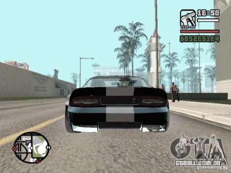 Banshee de GTA IV para GTA San Andreas traseira esquerda vista