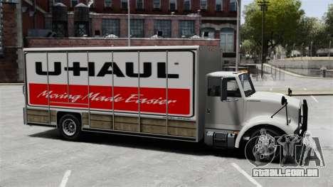 U-Haul caminhões para GTA 4