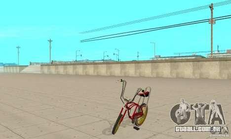 CUSTOM BIKES BMX para GTA San Andreas