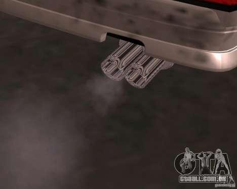 Taxi Cabrio para GTA San Andreas vista inferior