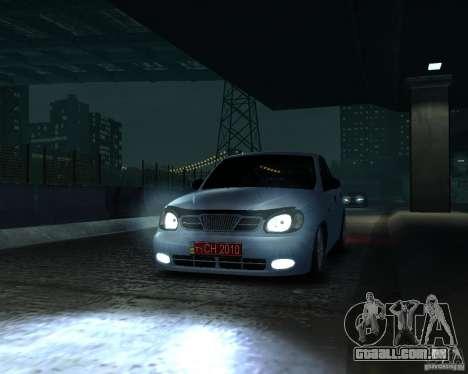 Daewoo Lanos para GTA 4 vista direita