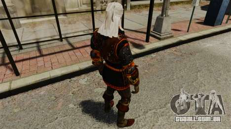 Geralt de Rivia v2 para GTA 4 quinto tela