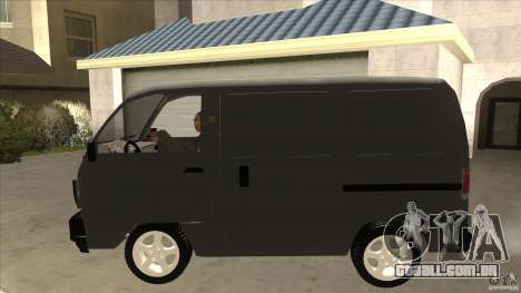 Suzuki Carry Blind Van 1.3 1998 para GTA San Andreas esquerda vista