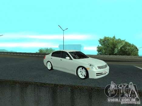 Nissan Skyline 300 GT para GTA San Andreas vista interior